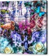 Of Phoenix And Rose Acrylic Print