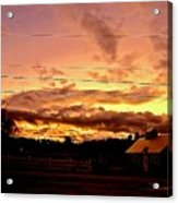Rooftop Soliloquy Acrylic Print