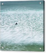 Off To Catch A Wave Acrylic Print