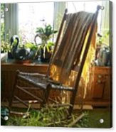 Off My Rocker - Photograph Acrylic Print