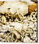 Off Road Bike Trinkets Acrylic Print