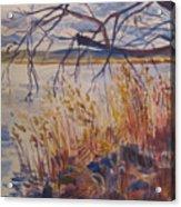 Off The Piermont Pier Acrylic Print
