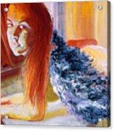 Office Angel II Acrylic Print
