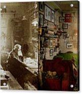 Office - Ole Tobias Olsen 1900 - Side By Side Acrylic Print