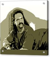 Office Space Lawrence Diedrich Bader Movie Quote Poster Series 006 Acrylic Print