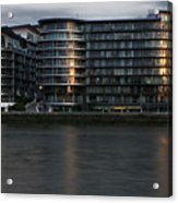Offices In London Acrylic Print