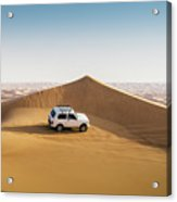 Offroading In The United Arab Emirates Acrylic Print