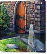 Ogham Stone Acrylic Print