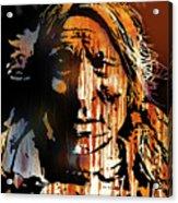 Oglala Warrior Acrylic Print