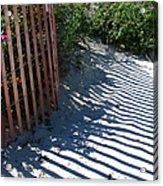 Ogunquit Shadows Acrylic Print