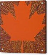Oh Canada 5 Acrylic Print