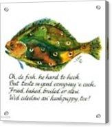 Oh De Fish Acrylic Print