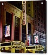 Ohio And State Theaters Acrylic Print