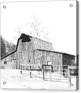 Ohio Barn Acrylic Print