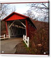 Ohio Covered Bridge Acrylic Print