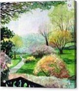 Ohio Garden Acrylic Print