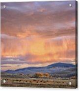 Ohio Pass Colorado Sunset Dsc07562 Acrylic Print