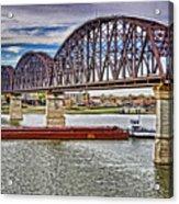 Ohio River Bridge Acrylic Print