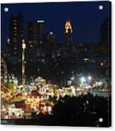 D3l-464 Ohio State Fair With Columbus Skyline Acrylic Print