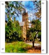 Ohio Wesleyan Chapel Acrylic Print