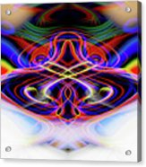 Ohmmmmm Meditation Acrylic Print