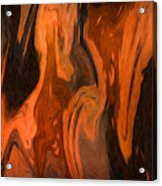 Oil Abstract Acrylic Print