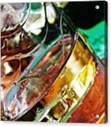 Oil And Water 28 Acrylic Print