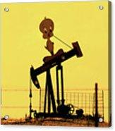 Oil Baron Tweety Acrylic Print