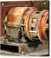 Oil Field Electric Motor Acrylic Print