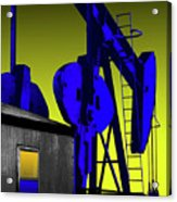 Oil Industry Well Pump Acrylic Print