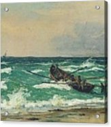 Oil Painting Danish Golden Age Acrylic Print