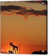 Oil Pump Jack 3 Acrylic Print