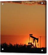 Oil Pump Jack 4 Acrylic Print