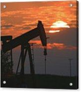Oil Pump Jack 6 Acrylic Print
