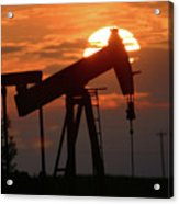Oil Pump Jack 7 Acrylic Print