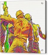 Oil Rig Workers 5 Acrylic Print