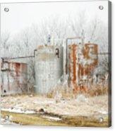 Oil Tank Farm Acrylic Print