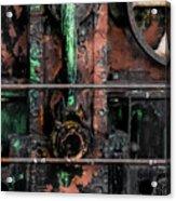 Oil Well Acrylic Print