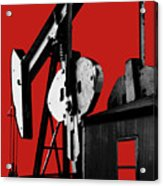Oil Well Pump #4 Acrylic Print