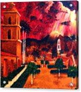 Ojai Red I Acrylic Print