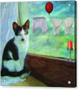 Ok I'll Pose - Painting - By Liane Wright Acrylic Print