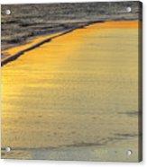 Okaloosa Triptych 2 Acrylic Print