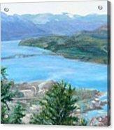 Okanagan Blue Acrylic Print