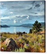 Okanagan Lake In The Spring Acrylic Print