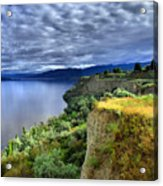 Okanagan Lake On A Thursday Acrylic Print
