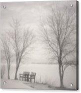 Okanagan Mist Acrylic Print