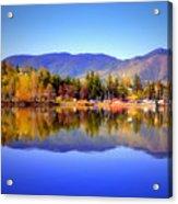 Okanagan Mountains Acrylic Print