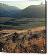 Okanagan Valley Warm Glow Acrylic Print