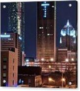 Okc Towers Acrylic Print