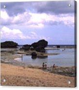 Okinawa Beach 3 Acrylic Print